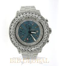 Men's Diamond Watch Bretling Super Avenger. Appraisal Value: $52,000
