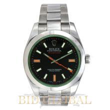 Rolex Green and Black Milgauss Watch. Appraisal Value: $23,200