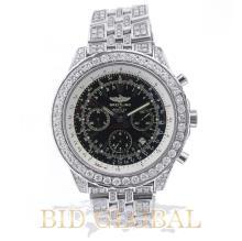 Men's Breitling for Bentley Motors with Diamonds. Appraisal Value: $35,200