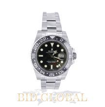 Men' s Stainless Steel Rolex GMT Master II Model 116710LN. Appraisal Value: $26,000
