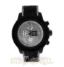 Men's Breitling Super Avenger with Black and White Diamonds. Appraisal Value: $29,600