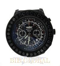 Men's Breitling Bentley with Black Diamonds. Appraisal Value: $24,400