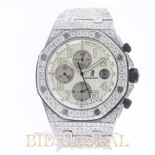 Audemars Piguet Royal Oak Offshore Chronograph with Diamonds. Appraisal Value: $79,200