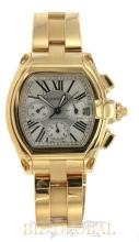 Men's Yellow Gold Cartier Roadster Extra Large. Appraisal Value: $78,000