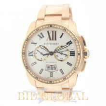 Cartier Calibre Chronograph Rose Gold - 42MM. Appraisal Value: $116,800