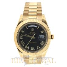 Rolex Day Date II President Yellow Gold. Appraisal Value: $110,000