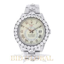 Rolex White Gold Sky Dweller with Diamonds -42MM. Appraisal Value: $260,000