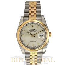Rolex Datejust 36MM Steel and Yellow Gold. Appraisal Value: $26,800