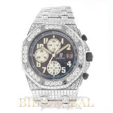 Audemars Piguet Royal Oak Offshore Chronograph with Diamonds. Appraisal Value: $102,800