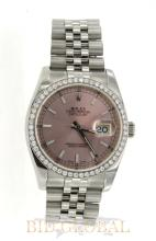 Stainless Steel Rolex Oyster Perpetual Datejust. Appraisal Value: $27,200