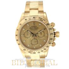 Rolex Cosmograph Dayton Yellow Gold. Appraisal Value: $93,200