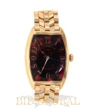 Men's Rose Gold Platinum Rotor Franck Muller Watch. Appraisal Value: $52,000