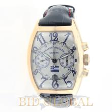 Men's Limited Edition Franck Muller Pride of Greece. Appraisal Value: $58,400