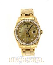Special Edition Yellow Gold Rolex Day Date. Appraisal Value: $146,000