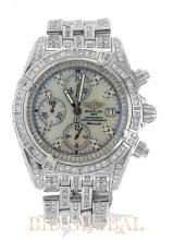 Men's Breitling Evolution Diamond Watch. Appraisal Value: $32,000