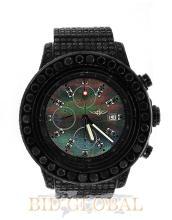 Men's PVD and Black Diamond Breitling Super Avenger. Appraisal Value: $23,000