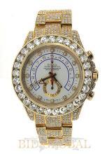 Men's Yellow Gold Diamond Rolex Yacht Master II. Appraisal Value: $226,000