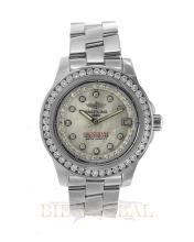 Stainless Steel 2.25ct 34mm Stainless Steel Breitling Colt Oceane Diamond Watch. Appraisal Value: $6,200
