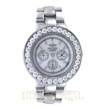 11.00ct 45mm Breitling Hercules Watch with Diamonds. Appraisal Value: $15,600