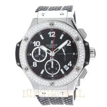 Stainless Steel 1.78ct 41mm Hublot Big Bang 41mm with Factory Diamond Bezel. Appraisal Value: $16,400