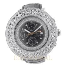 Stainless Steel 21.00ct 45 Breilting Super Avenger with Rubber Band and Diamond Bezel. Appraisal Value: $22,000