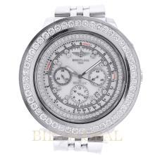 Stainless Steel 6.50ct 48.7 Breitling Bentley Motors Watch with Diamonds. Appraisal Value: $14,400