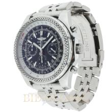 Stainless Steel 48.7mm Breitling for Bentley Motors Stainless Steel with Black Dial. Appraisal Value: $10,400