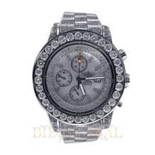 Stainless Steel 32.0ct 48mm Stainless Steel Diamond Breitling Super Avenger. Appraisal Value: $23,000
