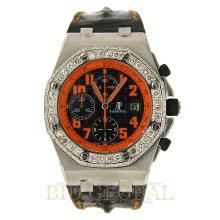 Stainless Steel 5.25ct Audemars Piguet Volcano Royal Oak Offshore Chronograph Watch - 26170ST.OO.D101CR.01. Appraisal Value: $32,800