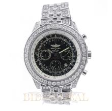 12.30ct 49mm Breitling for Bentley Motors with Diamonds. Appraisal Value: $18,400