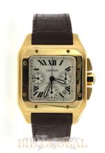 Men's Gold XL Cartier Roadster . Appraisal Value: $67,600