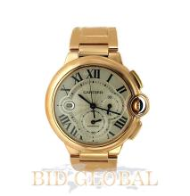 Men's 18K Yellow Gold Extra Large Cartier Ballon Bleu . Appraisal Value: $116,800