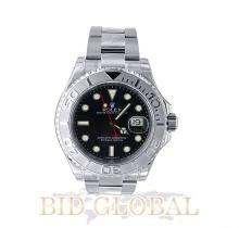 Stainless Steel and Platinum Rolex Yacht-Master Model 116622 . Appraisal Value: $28,000