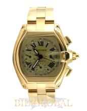 Cartier Roadster XL Chronograph Yellow Gold . Appraisal Value: $79,200