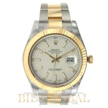 Rolex Date Just II 41MM Steel and Gold . Appraisal Value: $35,600