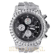 Men's Breitling Super Avenger Stainless Steel with Diamonds . Appraisal Value: $37,200