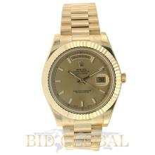 Rolex Day Date II President Yellow Gold . Appraisal Value: $116,000
