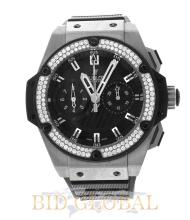 Hublot King Power Foudroyante Zirconium with Diamond Bezel . Appraisal Value: $68,800