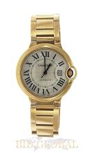 Men's Yellow Gold Large Cartier Ballon Bleu . Appraisal Value: $86,800