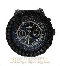 Men's Breitling Bentley with Black Diamonds . Appraisal Value: $24,400