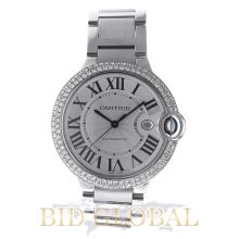 Cartier Ballon Bleu Large Size 42MM with Diamonds . Appraisal Value: $28,000