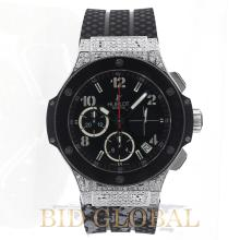 Hublot Big Bang 44MM Evolution Steel and Ceramic . Appraisal Value: $44,000