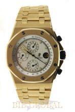 Men's Yellow Gold Royal Oak Offshore- Prestige Sports Collection . Appraisal Value: $216,800