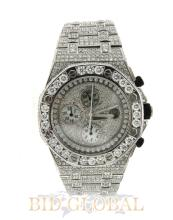 White Diamond Audemars Piguet Royal Oak Offshore . Appraisal Value: $121,200