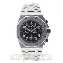 Men's Audemars Piguet Royal Oak Offshore Chronograph with Black Dial . Appraisal Value: $60,800