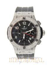 Men's Diamond Hublot Big Bang . Appraisal Value: $58,000