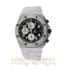Men's Audemars Piguet Royal Oak Offshore Diamond Watch . Appraisal Value: $92,000