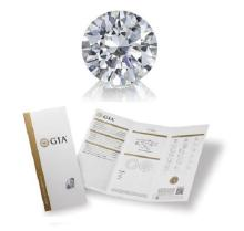5.24 ct, Color F, VVS1, Round cut GIA Graded, Appraised Value: $ 1,373,700