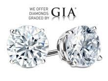 20.04 carat diamond pair Round cut GIA Graded 1) 10.01 ct, Color O, VS1 2) 10.03 ct, Color Q, VS1. Appraised Value: $ 1,256,800