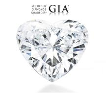 5.23 ct, Color D, VS2, Heart cut GIA Graded, Appraised Value: $ 860,400